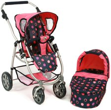Bayer Chic Puppenwagen Emotion 2in1 - corallo