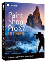 Corel PaintShop Pro X7 Ultimate (EN) (Box)