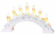 Best Season Candlestick Bow 7 Schwibbogen weiß (270-11)