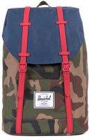 Herschel Retreat Backpack woodland camo/navy/red rubber