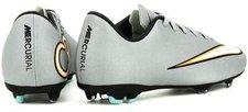 Nike Mercurial Victory V FG CR7 Jr metallic silver/black/hyper turquoise/black