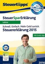 Akademische Arbeitsgemeinschaft Steuer-Spar-Erklärung 2016 Lehrer (Win)