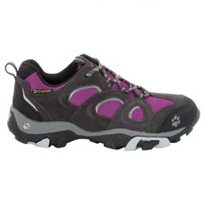 Jack Wolfskin Girls Mtn Attack Low Texapore mallow purple