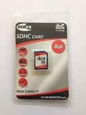 Inov8 Memory SDHC Card Class 4 4 GB
