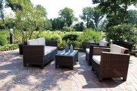 Garden Pleasure Rom Lounge-Gruppe 4-tlg. (Polyrattan)
