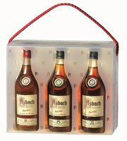 Asbach Cellarmaster's Collection 3x0,2l 38%