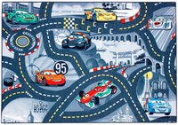 Associated Weavers World of Cars II grau 95x133cm