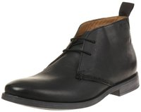 Clarks Novato Mid black leather