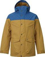 Burton Frontier Snowboard Jacket Glacier Blue / Nomad