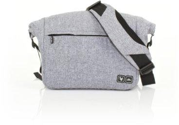 ABC Design Wickeltasche Courier Graphite Grey
