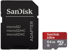 SanDisk Mobile Ultra microSDXC 64GB Class 10 UHS-I (SDSQUNC-064G-GN6MA)