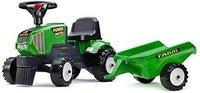 Falquet & Cie Tracteur Baby Power Master grün + Anhänger (1014B)