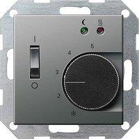 Gira E22 RTR + Sensor FB edelstahl