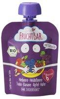 Frucht Bar Bio Fruchtpüree Himbeer Heidelbeer Hafer (90 ml)