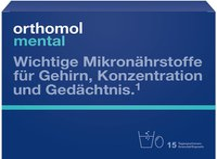 Orthomol Mental Granulat Kapseln Tagesportionen (15 Stk.)