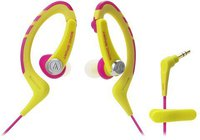 Audio Technica ATH-SPORT1 gelb-pink