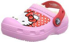 Crocs Hello Kitty Dots Lined Clog