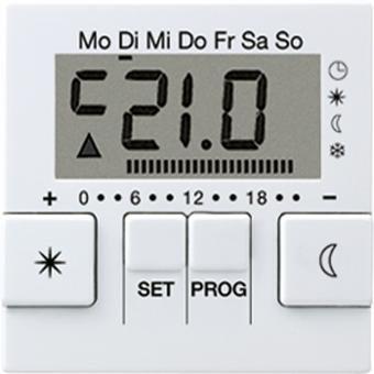 Jung Uhren-Thermostat-Display A UT 238 D
