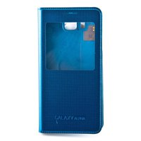 Samsung S-View Cover blau (Galaxy Alpha)