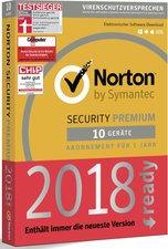 Symantec Norton Security 3.0 (10 Geräte) (1 Jahr) (PKC)