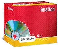 Imation DVD+RW 4,7GB 120min 8x 5er Jewelcase