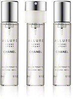 Chanel Allure Homme Sport Eau de Toilette (3 x 20 ml)