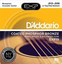 Daddario EXP19 Coated Saitensatz