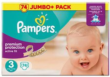 Pampers Active Fit Gr.3 (4-9 kg)