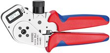 Knipex Vierdornpresszangen für gedrehte Kontakte 195 mm (97 52 63 DG)
