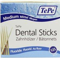 TePe Zahnhölzer Mittel mit Fluorid (125 Stk.)