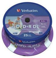 Verbatim BD-R 25GB 135min 4x bedruckbar 10er Jewelcase