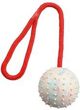 Trixie Ball am Seil Naturgummi (ø 7 cm / 30 cm)