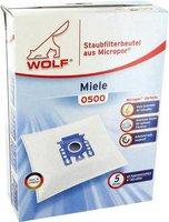 Wolf PVG Staubsaugerbeutel aus Micropor (0500)
