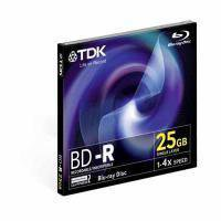 TDK BD-R 25GB 135min 4x 1er Jewelcase
