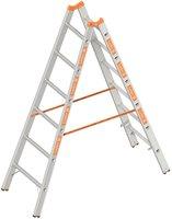 layher 1039 Topic Stehleiter 6 Sprossen