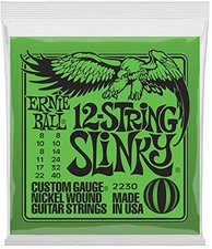 Ernie Ball 12-string Slinky Electric Nickel Wound .008 - .040