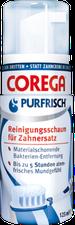 Corega Purfrisch Reinigungsschaum für Zahnersatz (125 ml)