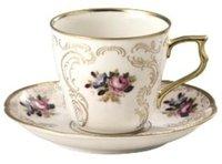 Rosenthal Sanssouci Elfenbein Diplomat Kaffeetasse 2 tlg.