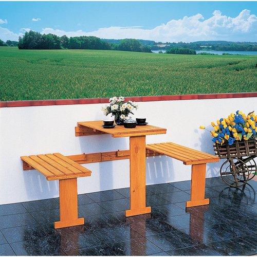 Promex Gartenideen Balkonklappgarnitur 3-tlg. (360-0)