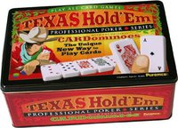 Idena Texas Hold'em Poker Set in Metalldose