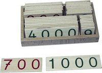 Bartl Zahlenkarten 1-9000 klein