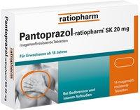 Ratiopharm Pantoprazol SK 20 mg magensaftr. Tabletten (14 Stk.)