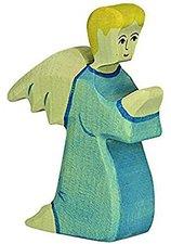 Holztiger Engel blau (6686)