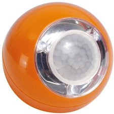 GEV LED Lichtball mit Bewegungsmelder orange