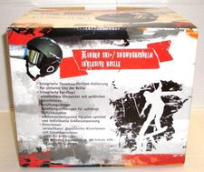 REBEL Sports Inmould Kinder-Skihelm
