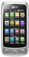 LG Cookie Plus GS500 Weiß Silber ohne Vertrag