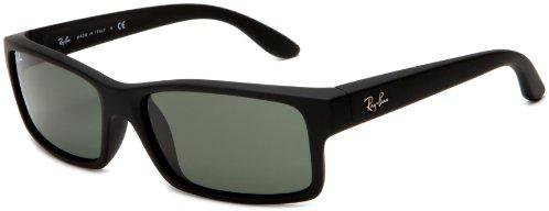 Ray Ban RB4151 622 (black rubber/green)