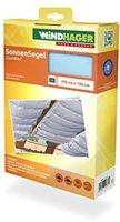 Windhager Sonnenschutz-Segel 270 x 140 cm