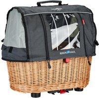 Rixen & Kaul Doggy Basket Plus Fix mit Wetterschutz für RT