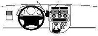 Brodit ProClip Mercedes Benz Vito Bj. 96-03
